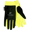 Extremities Windy Glo Glove Black/ Day GloYellow
